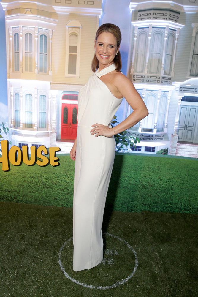 Andrea Barber alla premiere losangelina di Fuller House