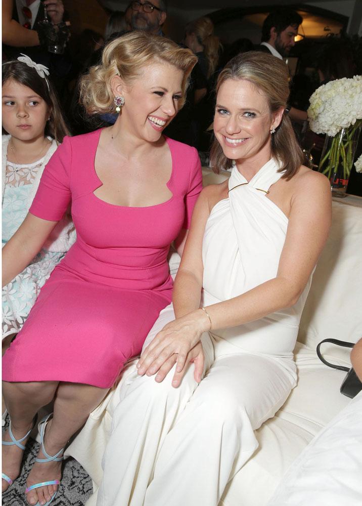 Jodie Sweetin e Andrea Barber alla premiere di Le amiche di mamma