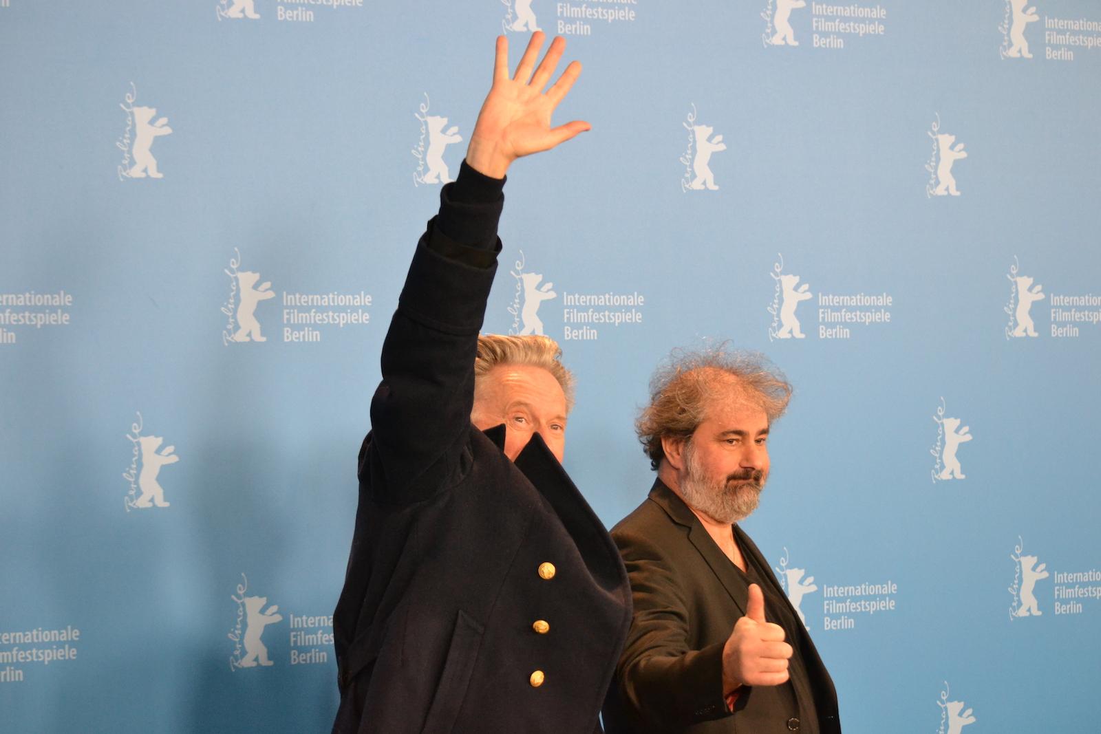 Berlino 2016: Benoît Delépine e Gustave Kervern durante il photocall di Saint Amour