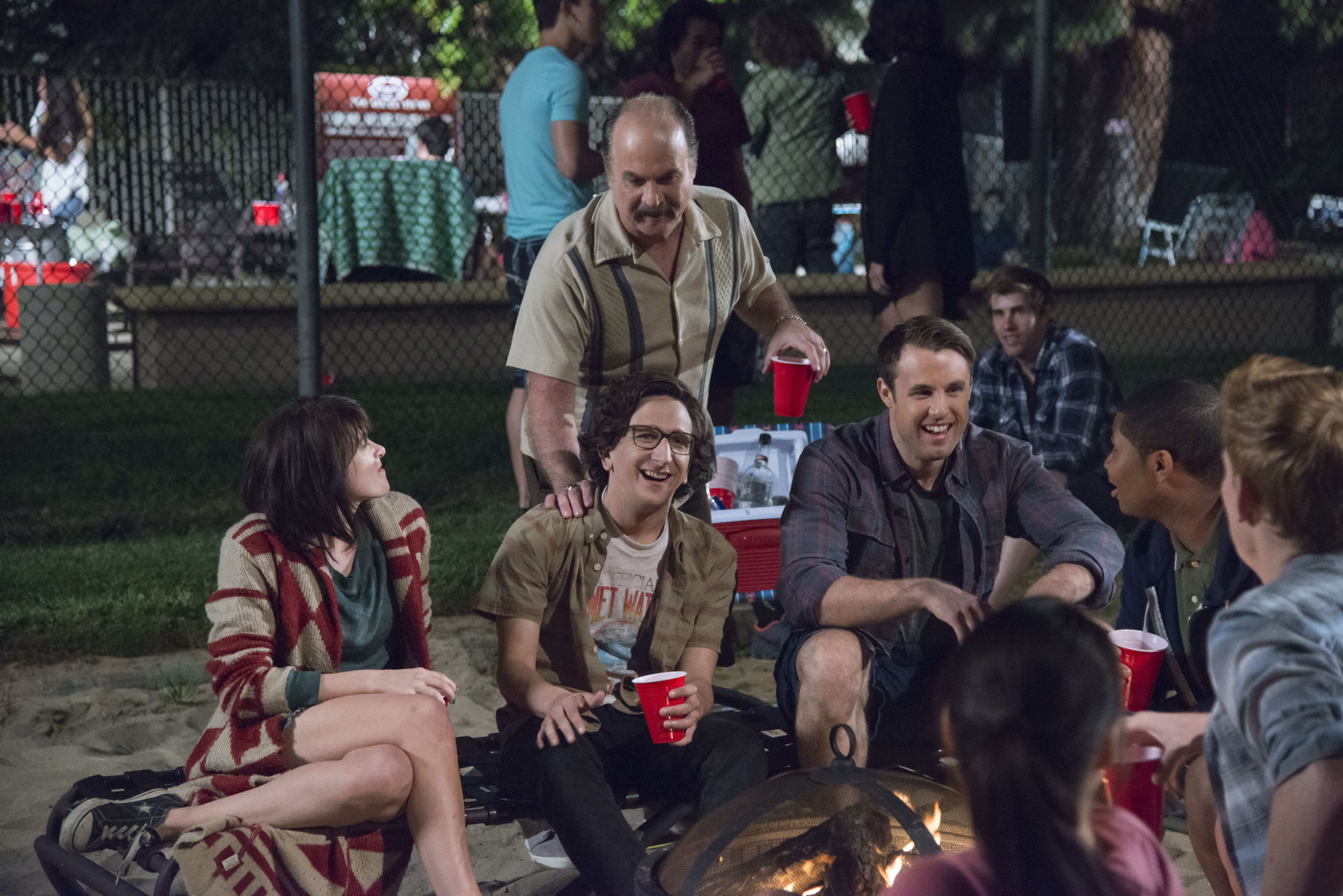 Love: una foto del cast della serie di Netflix