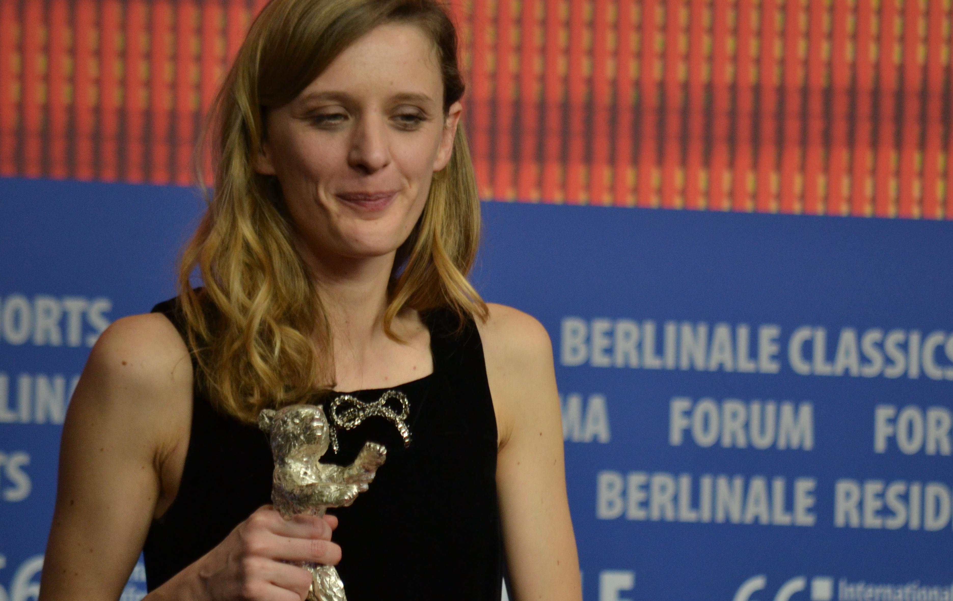 Berlino 2016: Mia Hansen-Løve alla conferenza dei premiati