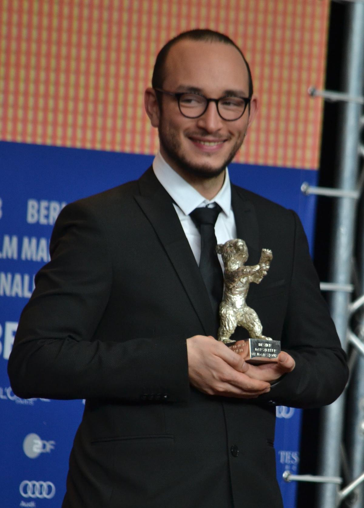 Berlino 2016: Majid Mastoura durante la conferenza dei premiati