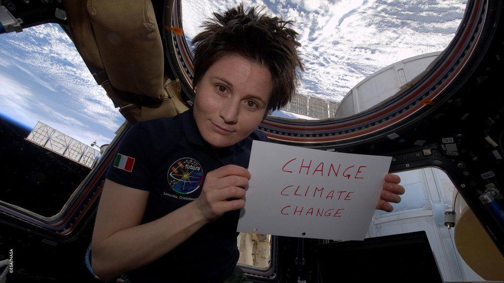 Astrosamantha - La donna dei record nello spazio: Samantha Cristoforetti in un momento del documentario