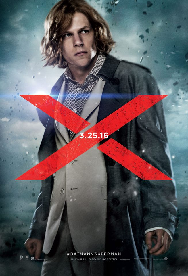 Batman v Superman: il character poster di Lex Luthor