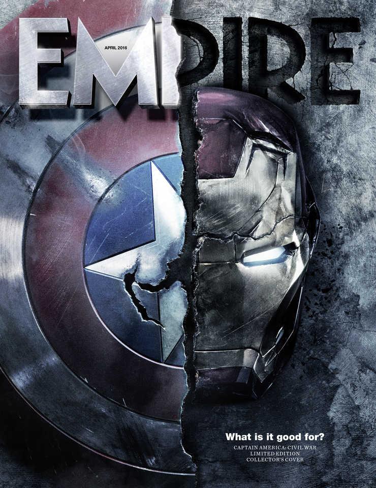 Captain America: Civil War - La nuova locandina su Empire