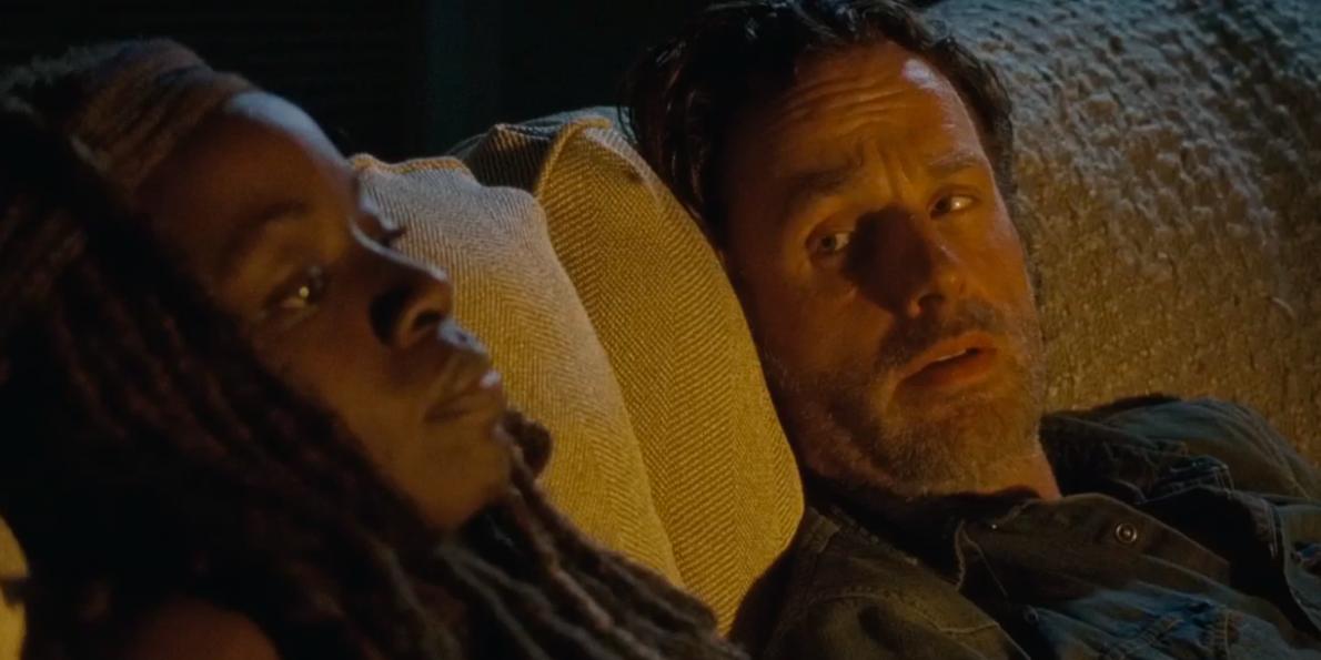 The Walking Dead: Danai Gurira e Andrew Lincoln in La legge della probabilità