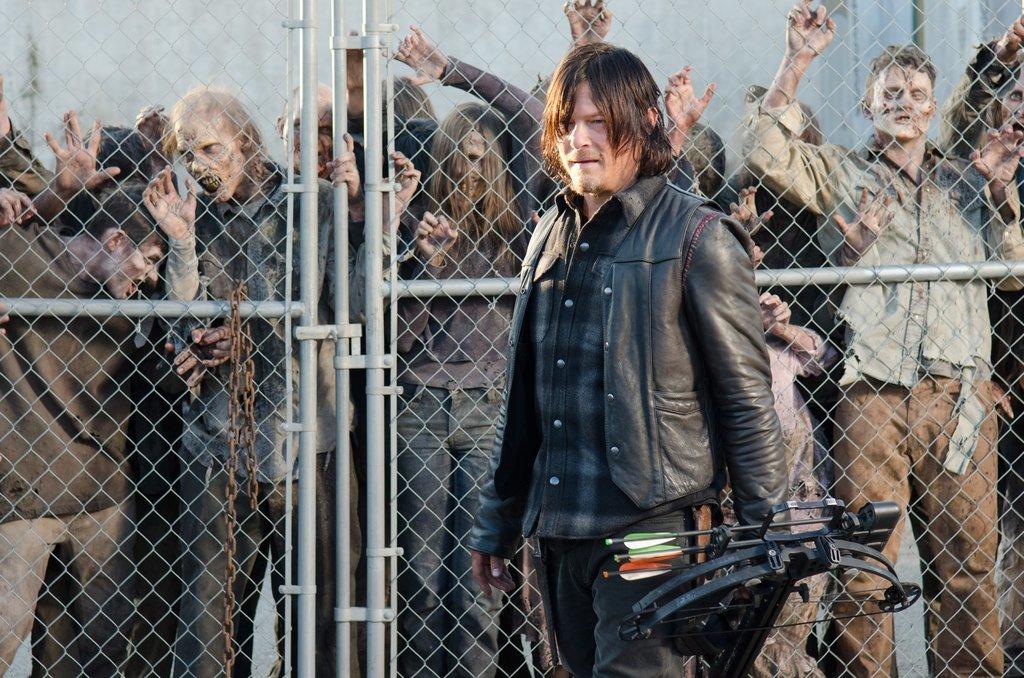 The Walking Dead: Norman Reedus nell'episodio La legge della probabilità