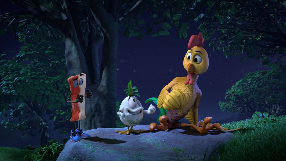 Pedro - Galletto coraggioso: una scena del film animato