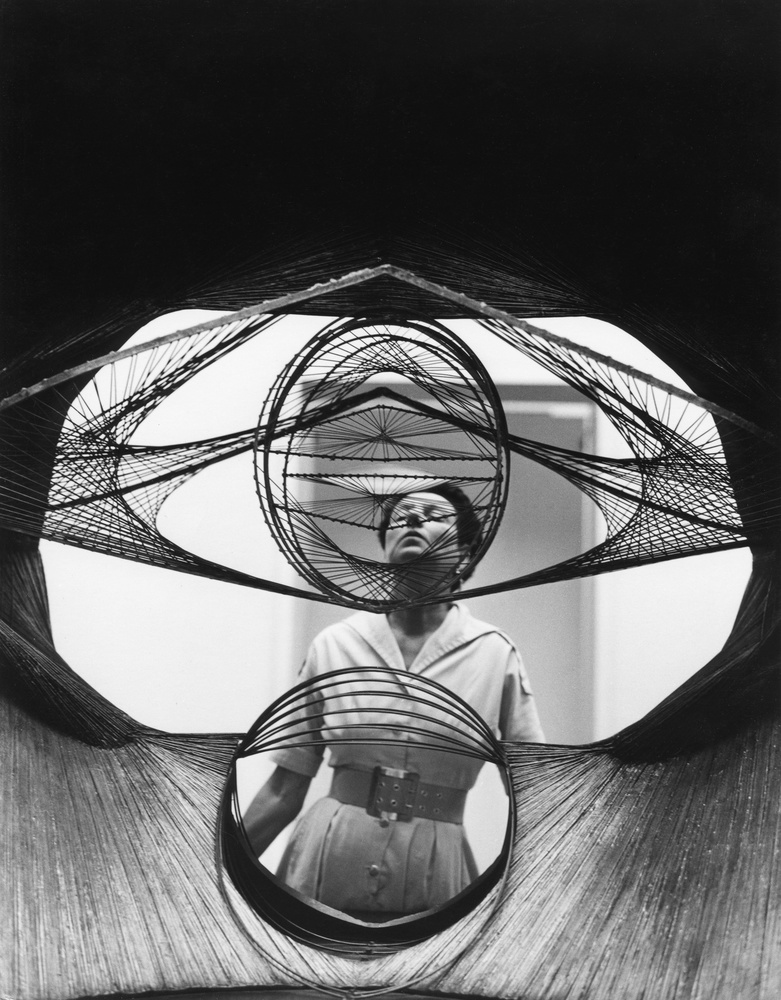 Peggy Guggenheim: Art Addict, Peggy Guggenheim in un'immagine tratta dal documentario