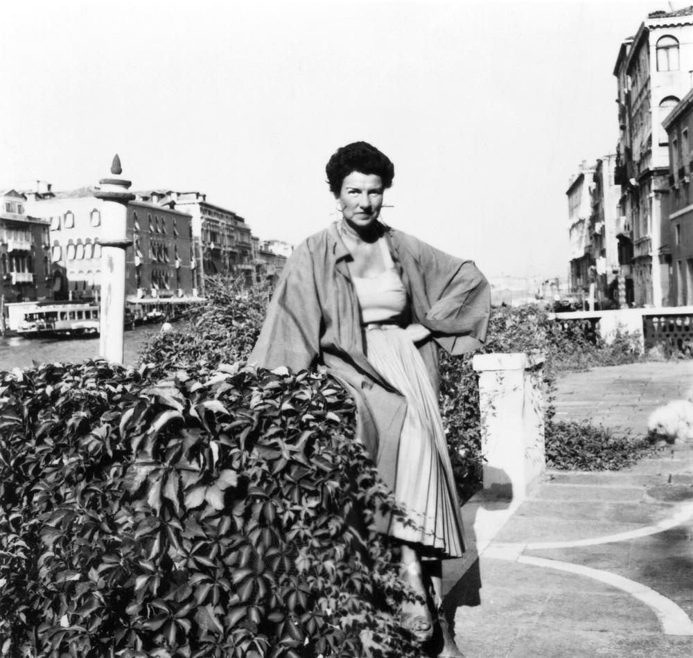Peggy Guggenheim: Art Addict, Peggy Guggenheim in un'immagine del documentario