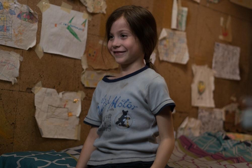 Room: Jacob Tremblay in una scena del film