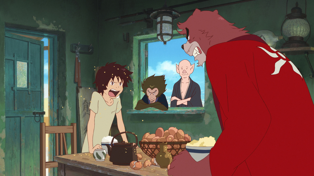 The Boy and the Beast: un'immagine del film animato