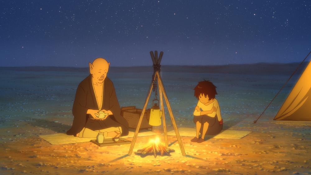 The Boy and the Beast: una scena del film d'animazione