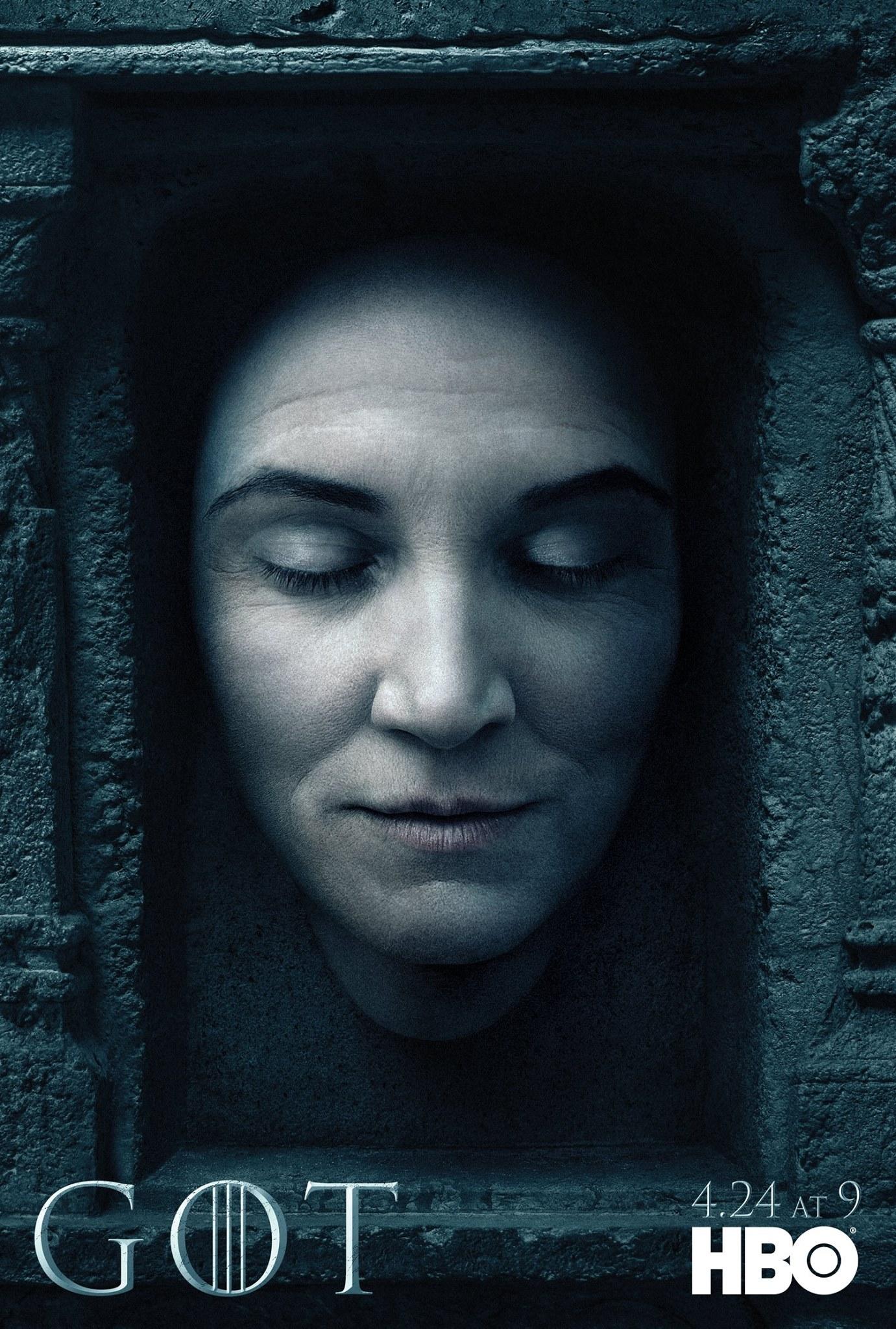 Il trono di spade: il character poster di Catelyn Stark