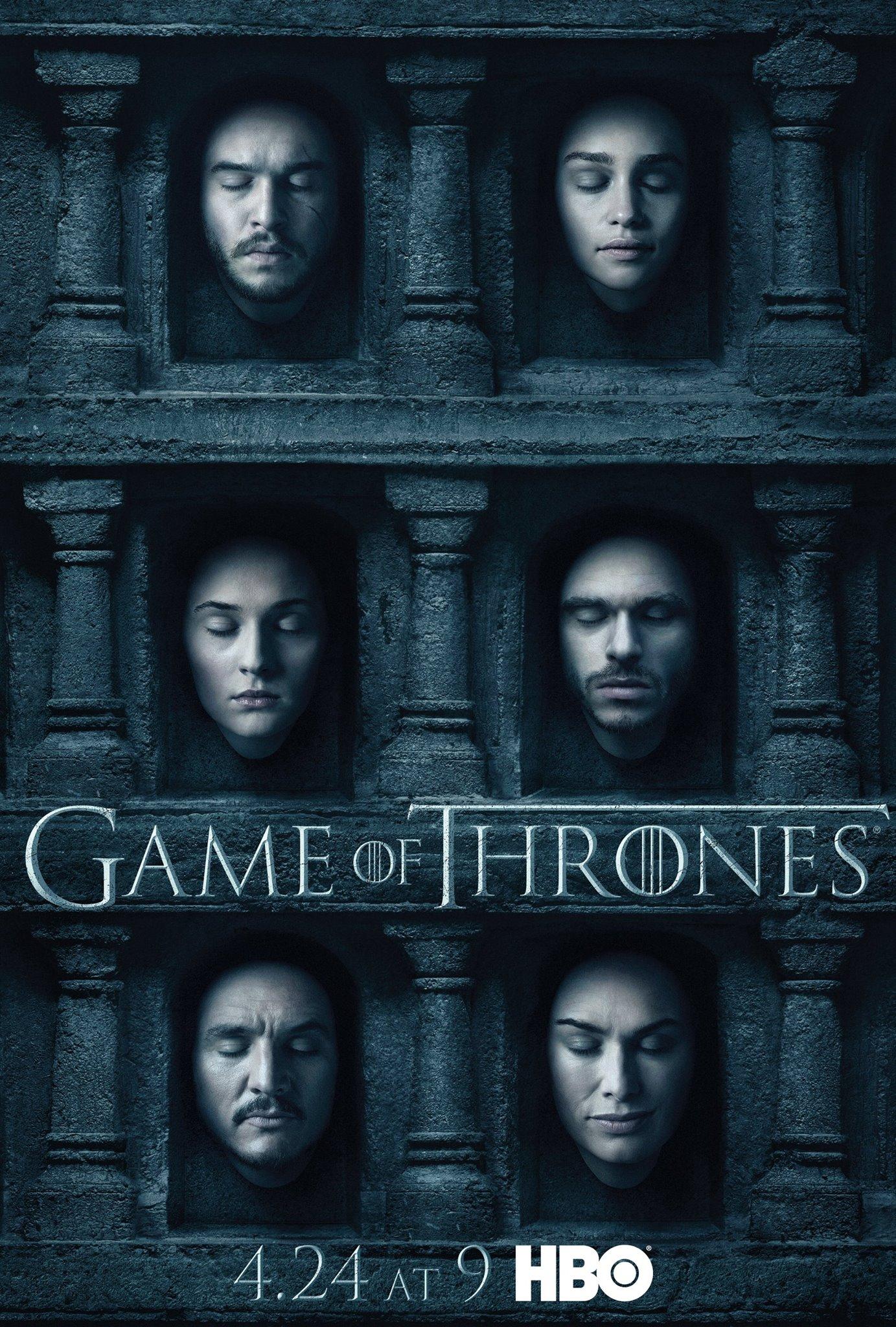 Il trono di spade: un poster dedicato ai protagonisti della serie