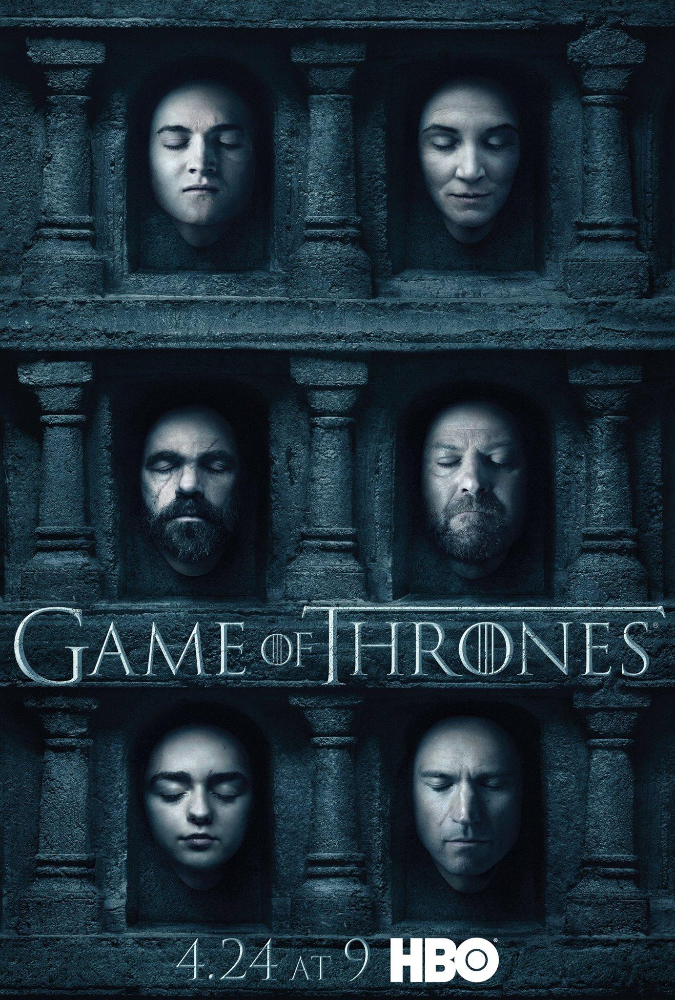 Il trono di spade: un nuovo poster della sesta stagione