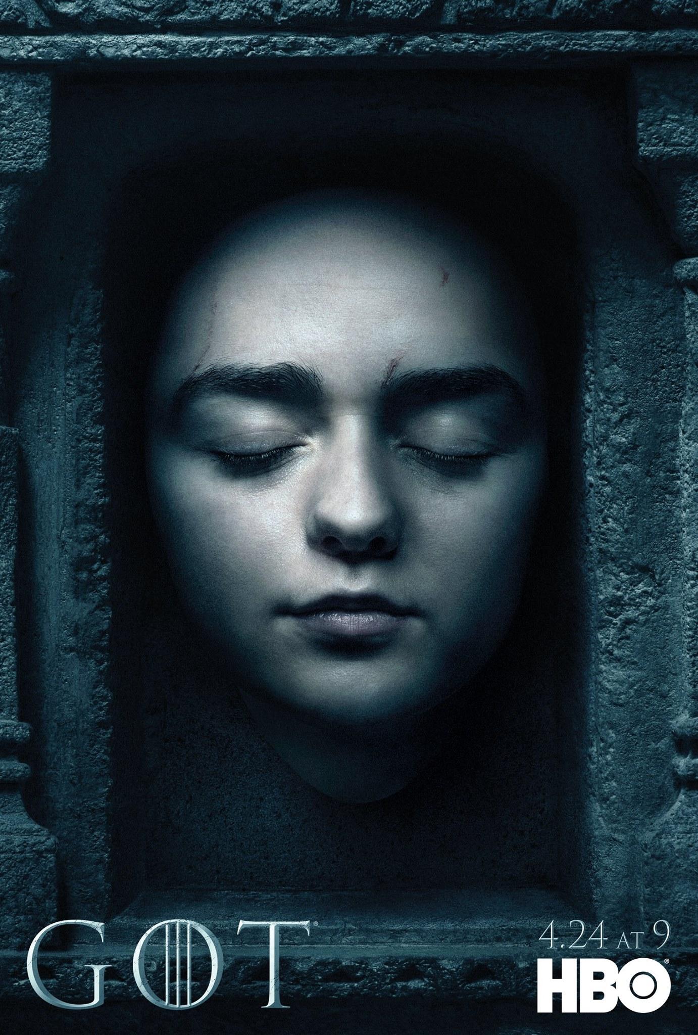 Il trono di spade: il character poster di Arya
