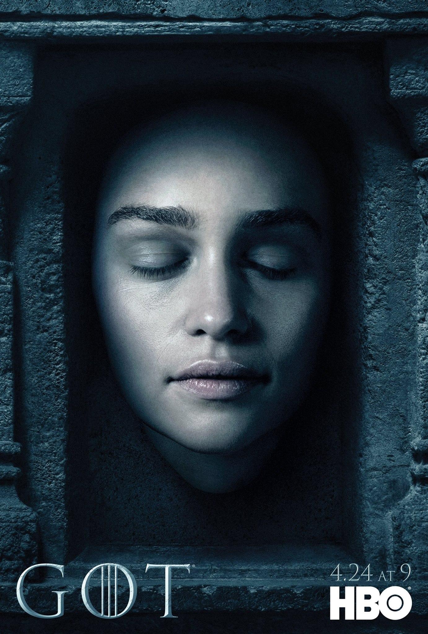 Il trono di spade: il character poster di Daenerys