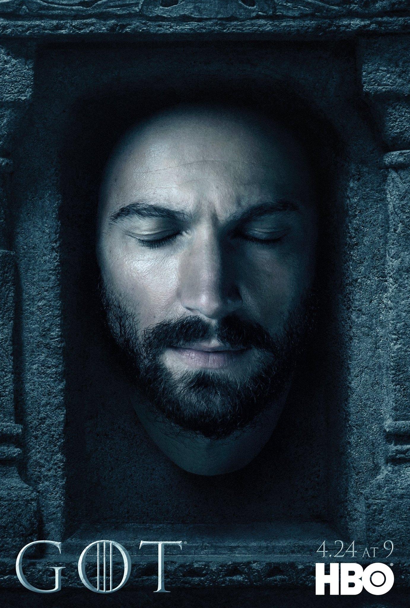 Il trono di spade: il character poster di Daario