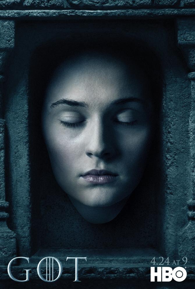 Il trono di spade: il character poster di Sansa