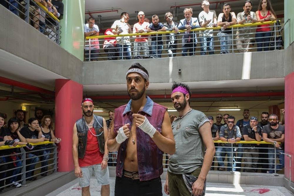 Bianco di Babbudoiu: Stefano Manca, Roberto Fara e Michele Manca insieme in una scena del film