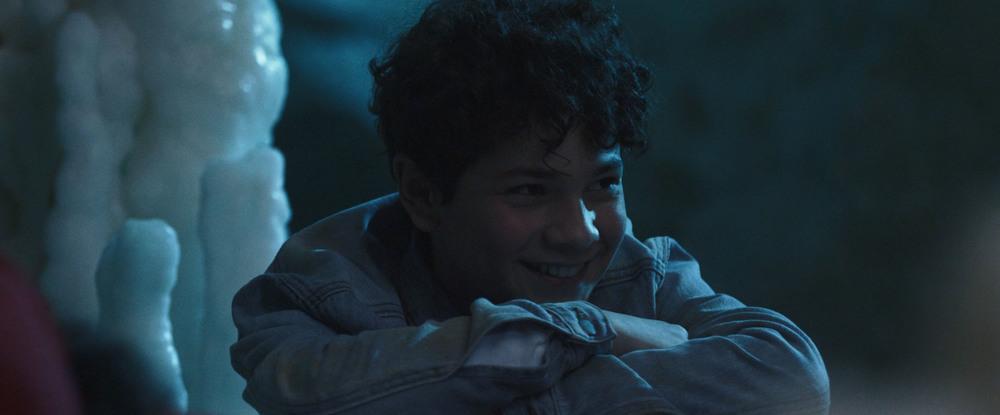 Grotto: Gabriele Fiore in una scena del film