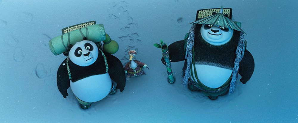 Kung Fu Panda 3: un' immagine del film animato