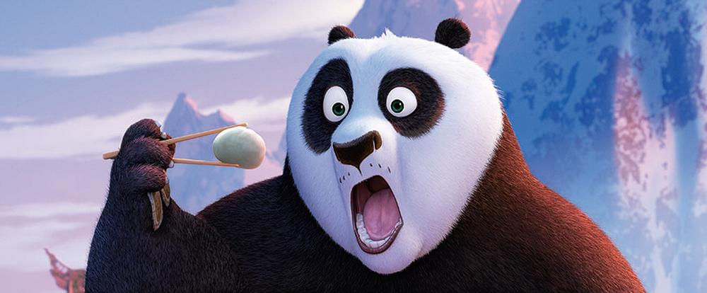 Kung Fu Panda 3: una simpatica immagine del film animato