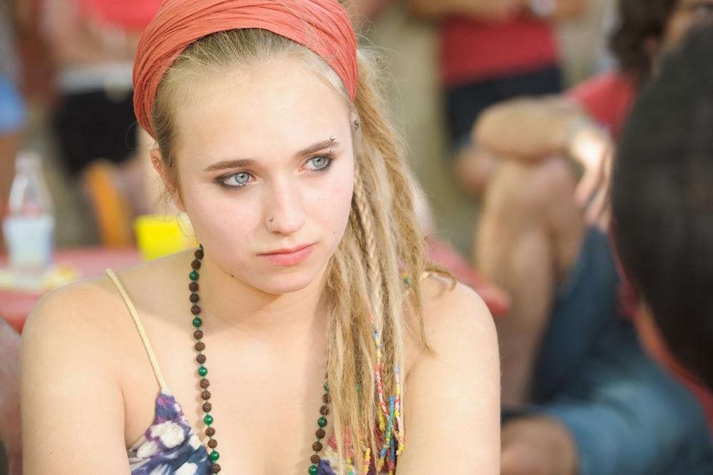 Un'estate in Provenza: Chloe Jouannet in una scena del film