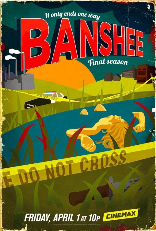 Banshee: un poster per la quarta stagione
