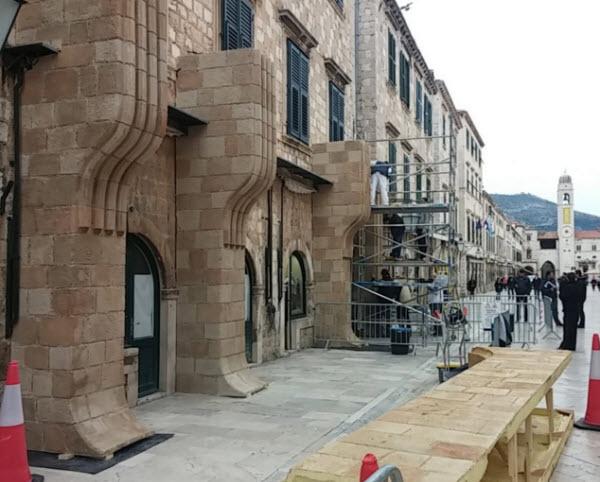 Star Wars: Episode VIII - Dubrovnik in versione set