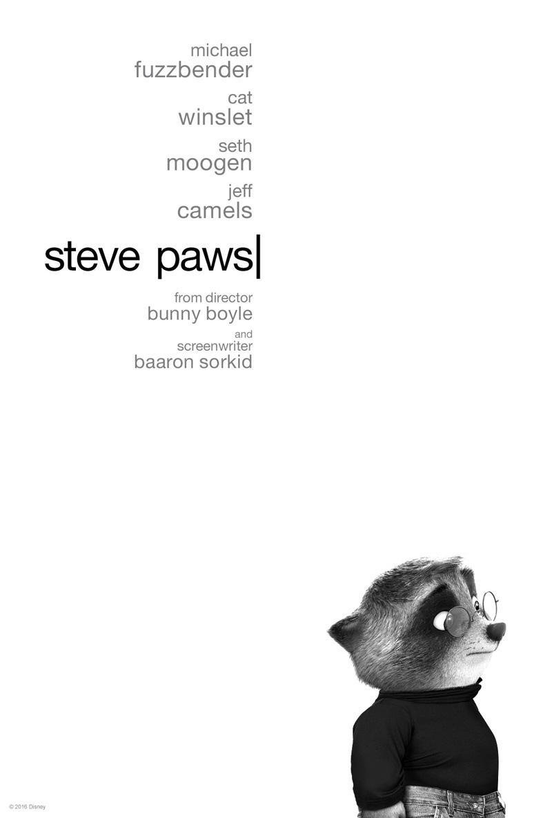 Zootropolis: il poster parodia di Steve Paws