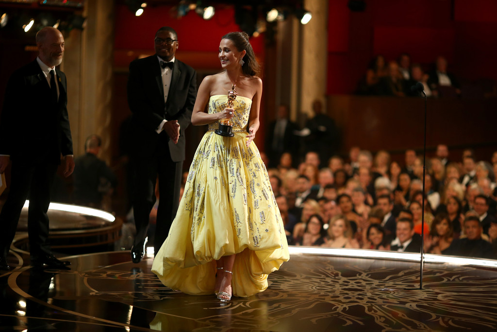 Alicia Vikander vincitrice dell'Oscar per The Danish Girl
