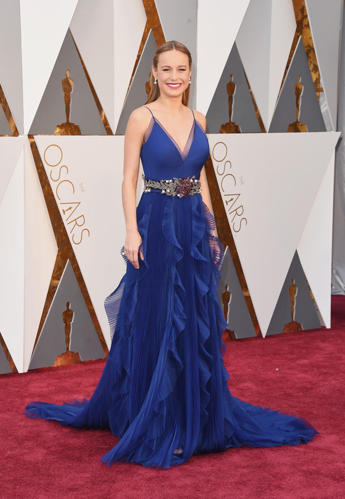 Oscar 2016: Brie Larson sul red carpet