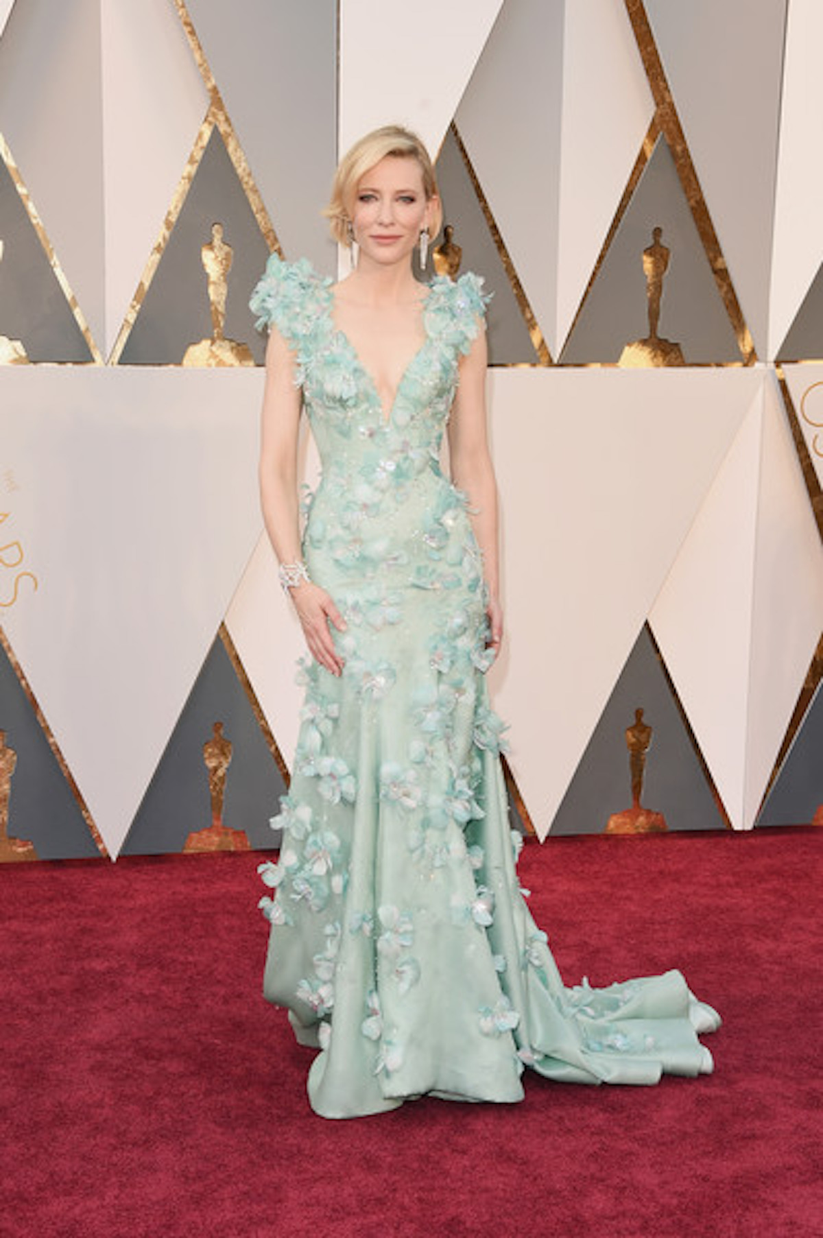 Oscar 2016: Cate Blanchett sul red carpet