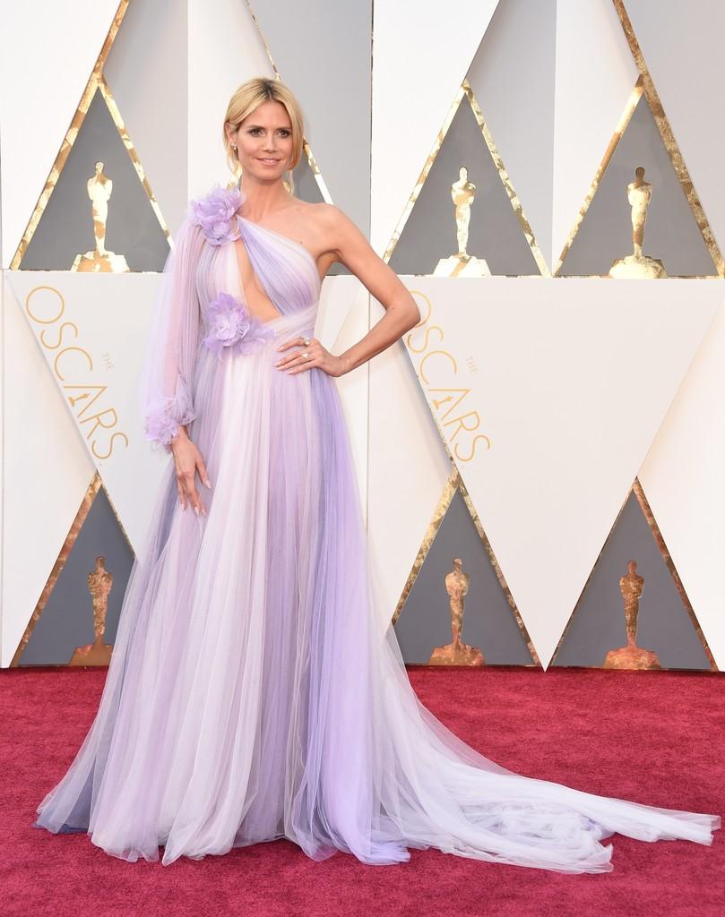 Oscar 2016, Heidi Klum sul red carpet