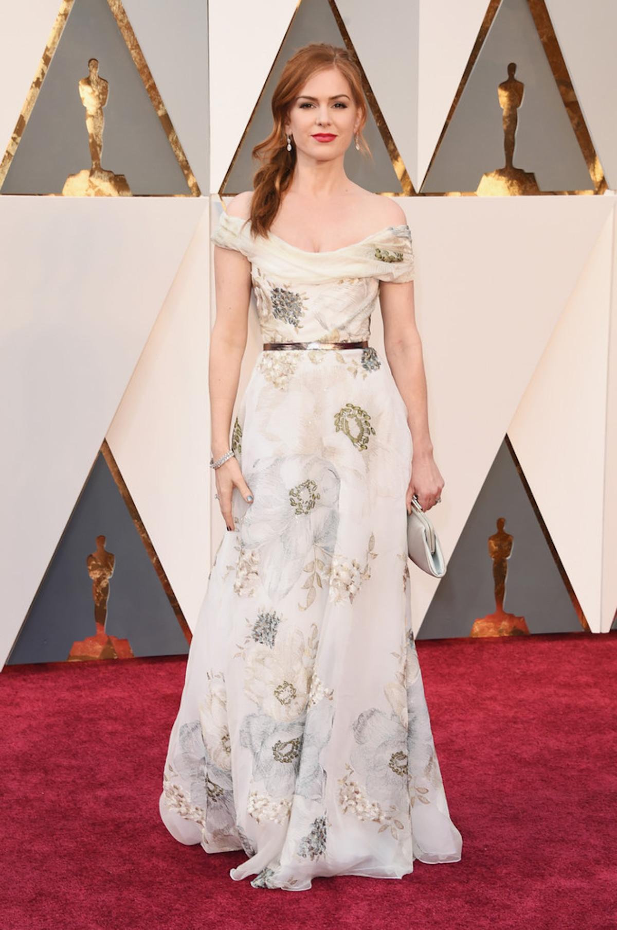 Oscar 2016: Isla Fisher sul red carpet