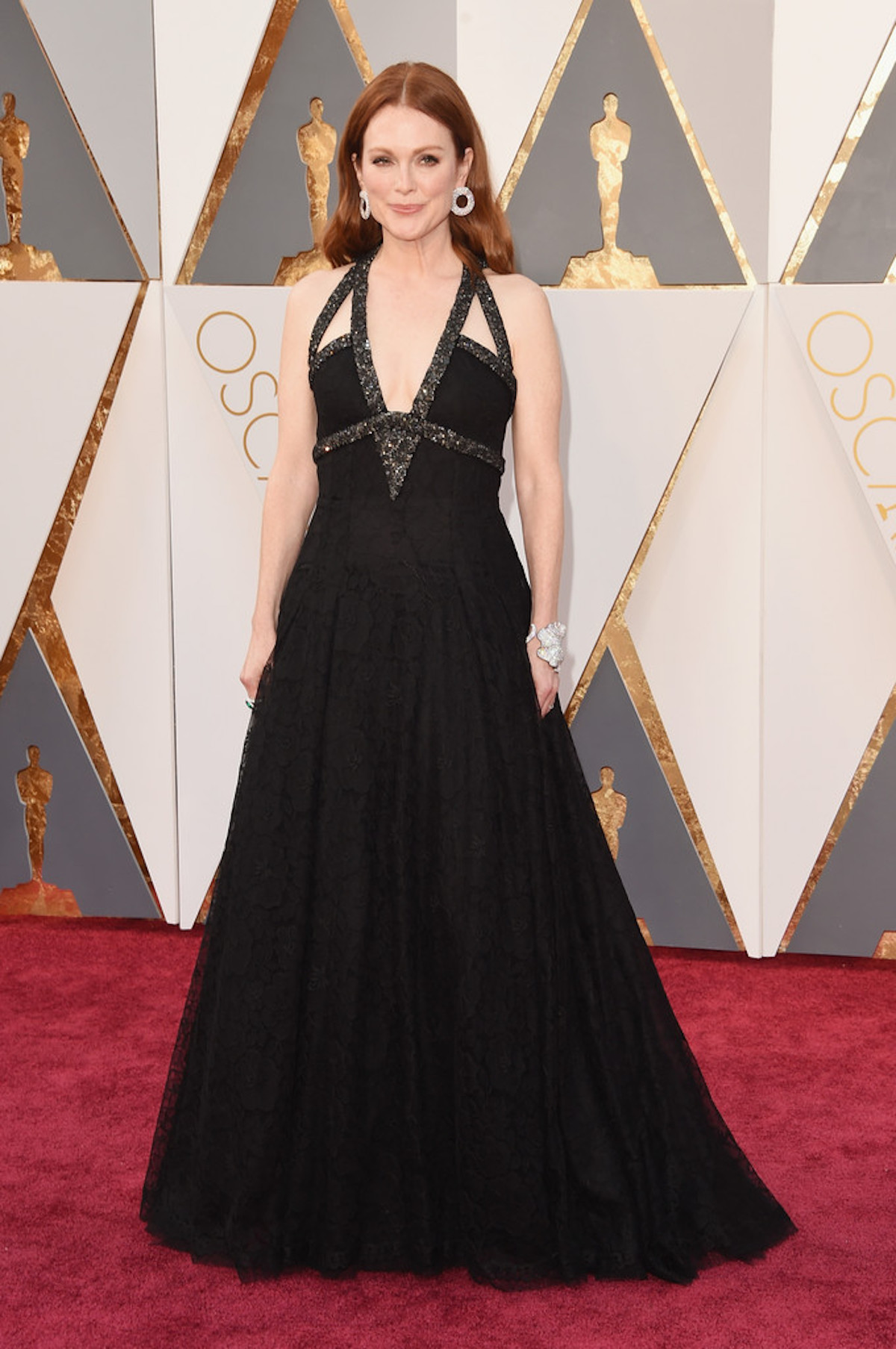 Oscar 2016: Julianne Moore sul red carpet