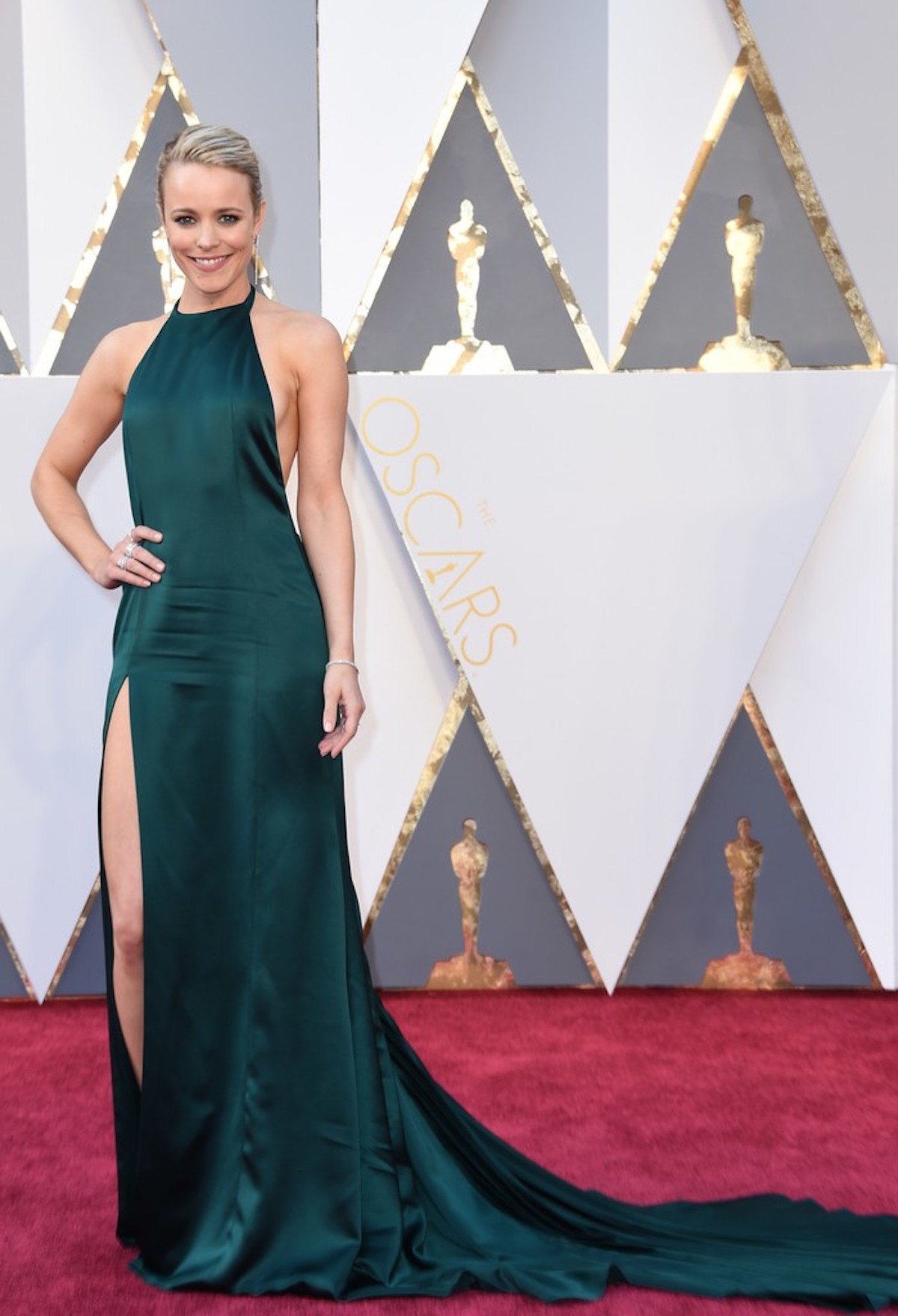 Oscar 2016: Rachel McAdams sul red carpet
