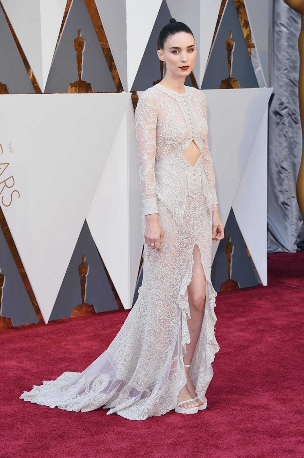 Oscar 2016: Rooney Mara sul red carpet