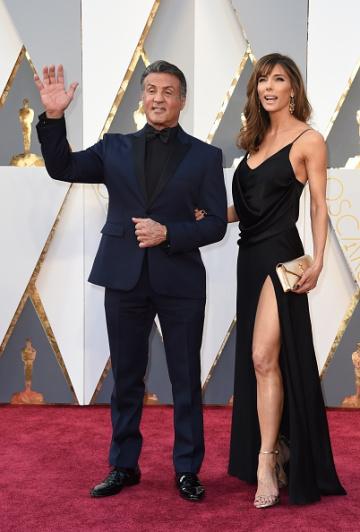 Oscar 2016: Sylvester Stallone sul red carpet