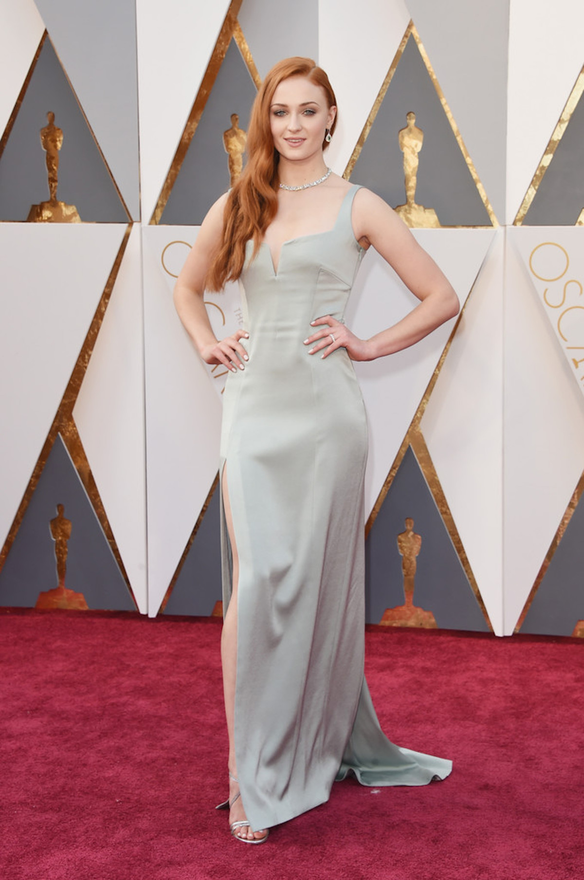 Oscar 2016: Sophie Turner sul red carpet