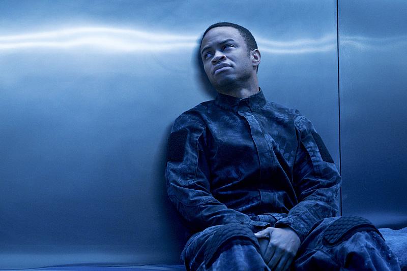 Arrow: l'attore Eugene Byrd nella puntata A.W.O.L.