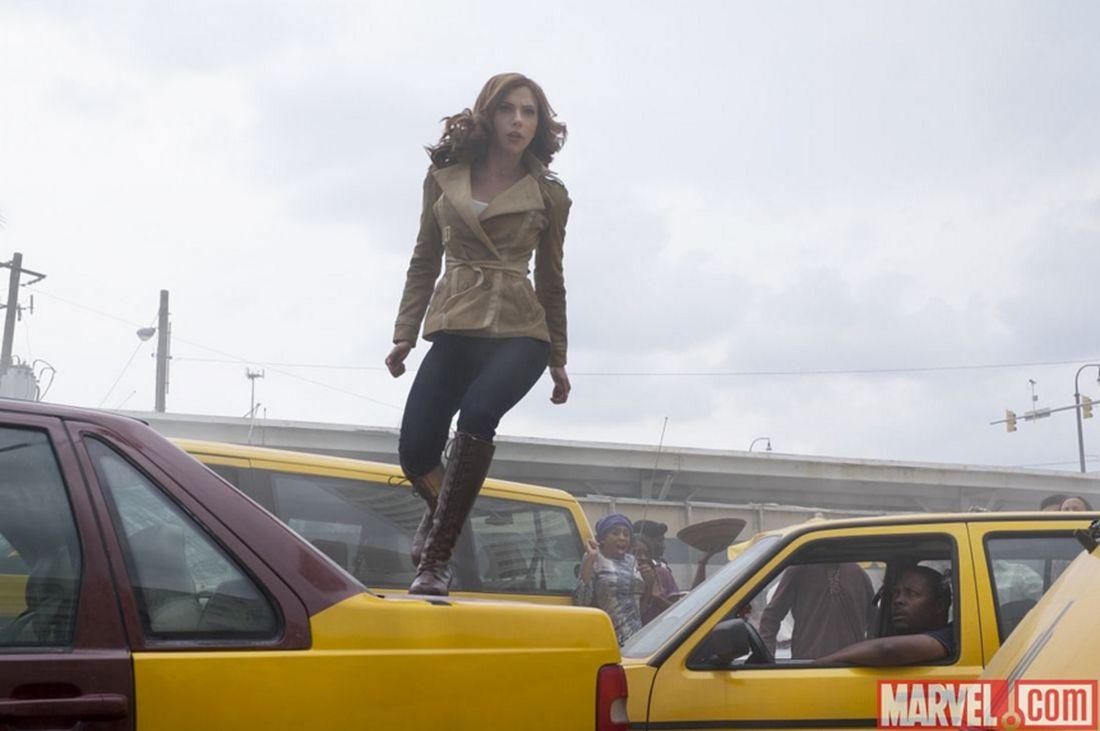 Captain America: Civil War - Scarlett Johansson in una foto pubblicata da Empire