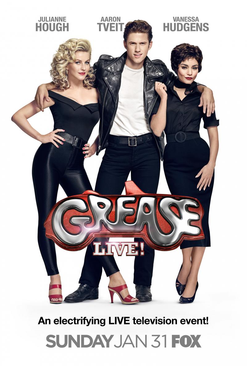 Grease Live!: la locandia del film