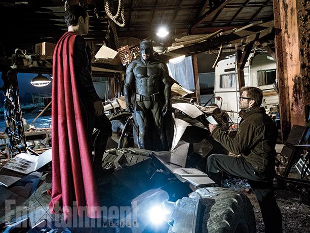 Batman v Superman: Zack Snyder dà delle indicazioni a Henry Cavill e Ben Affleck
