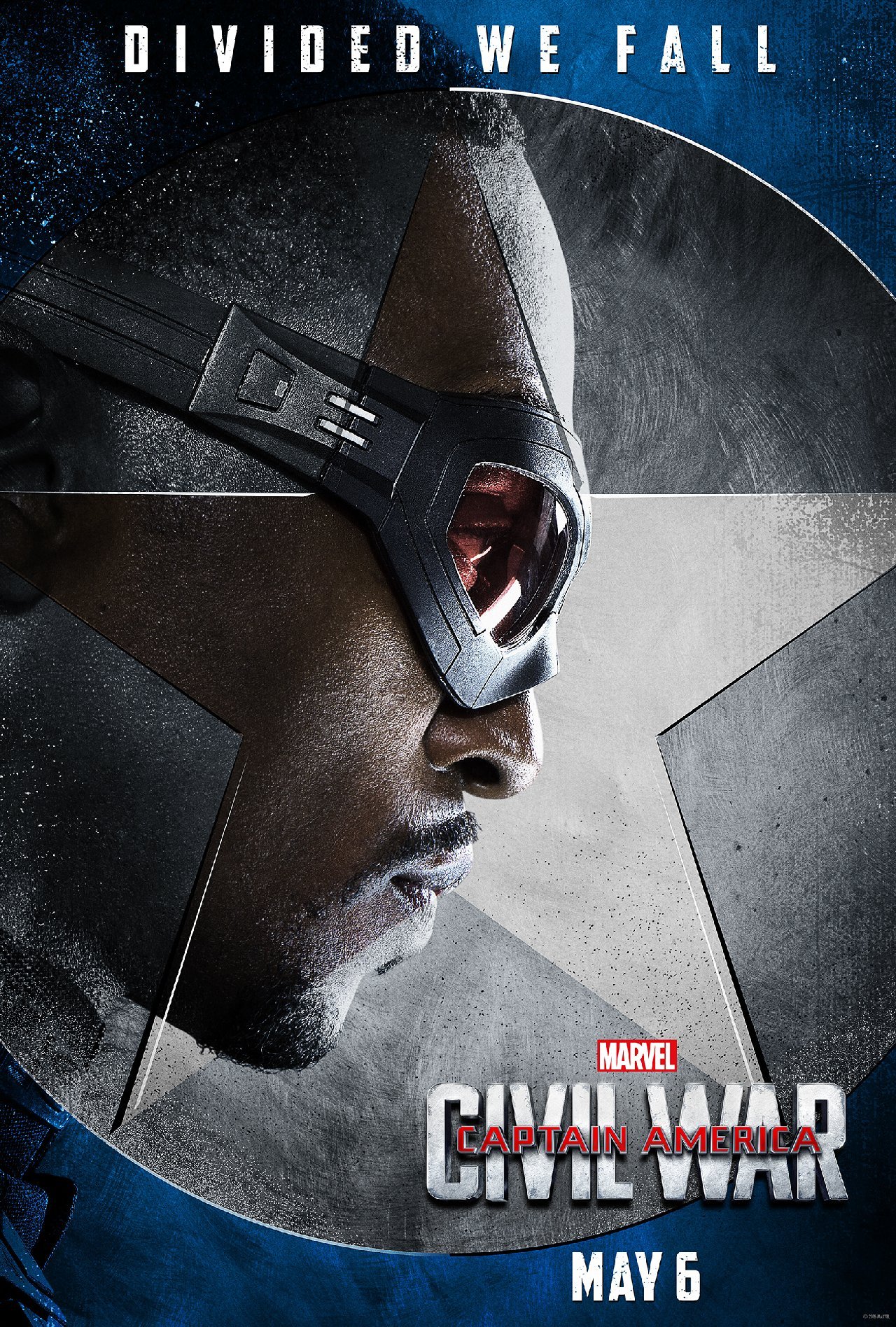 Captain America: Civil War - Il character poster di Anthony Mackie