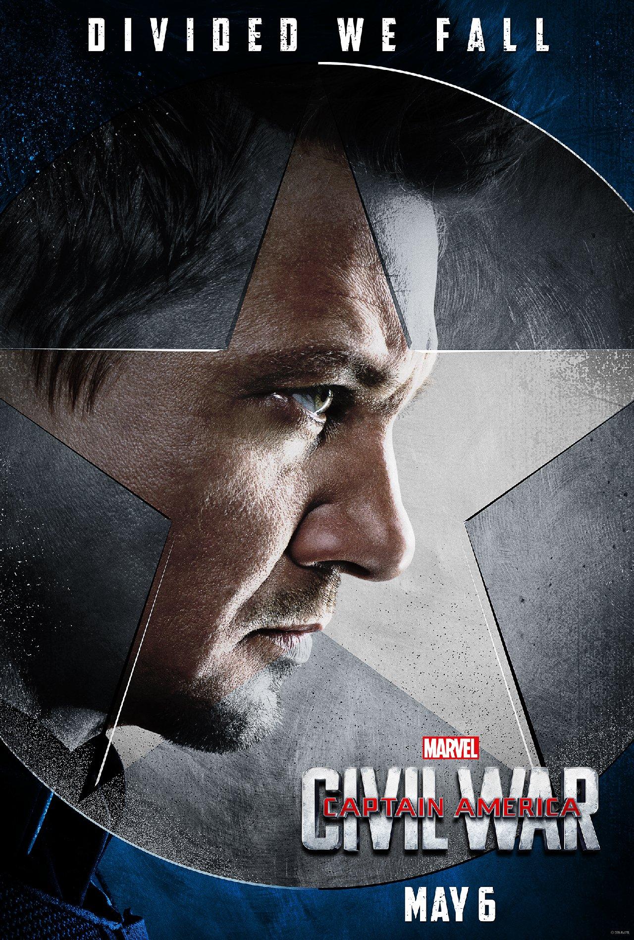Captain America: Civil War - Il character poster di Occhio di Falco