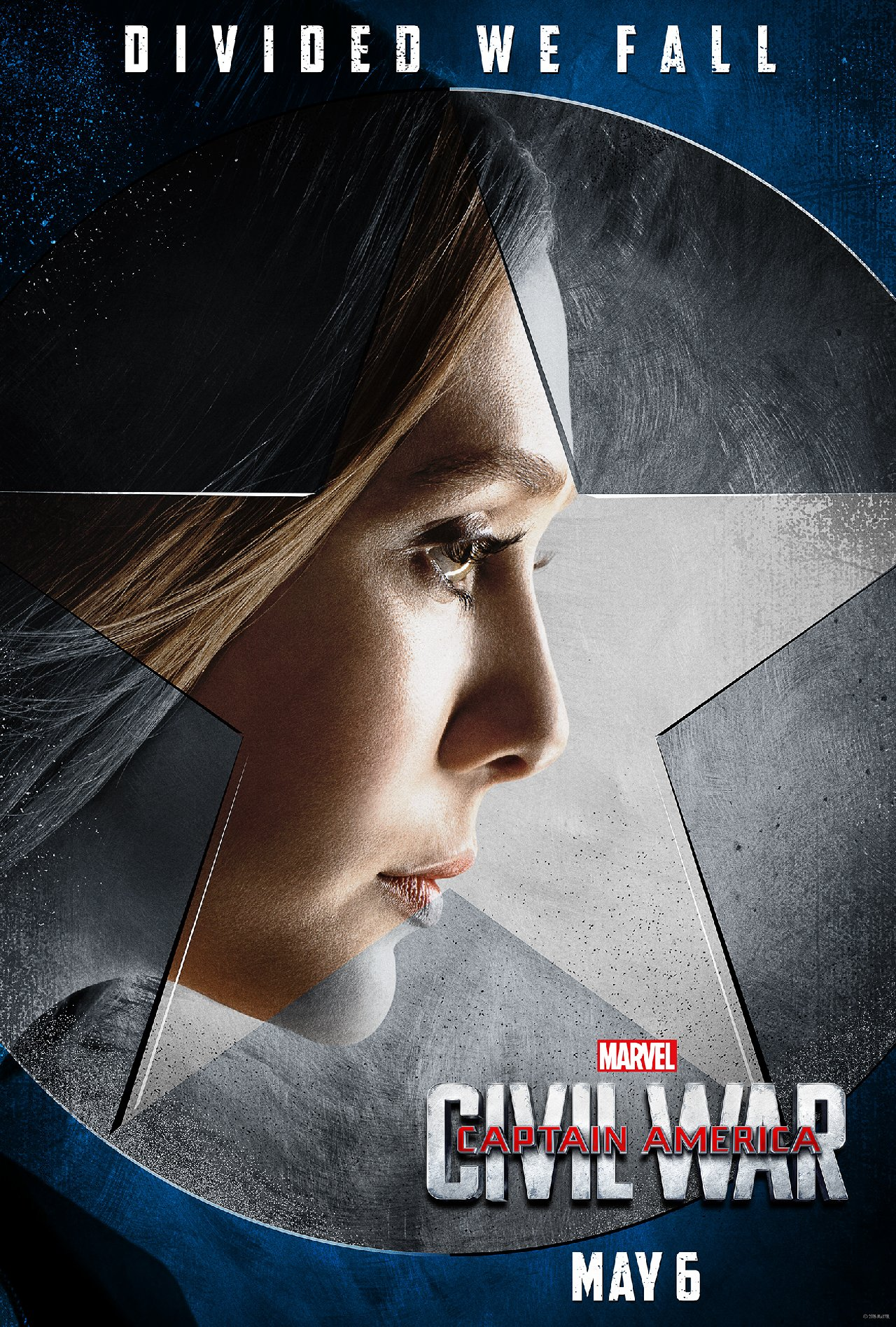 Captain America: Civil War - Il character poster di Elizabeth Olsen