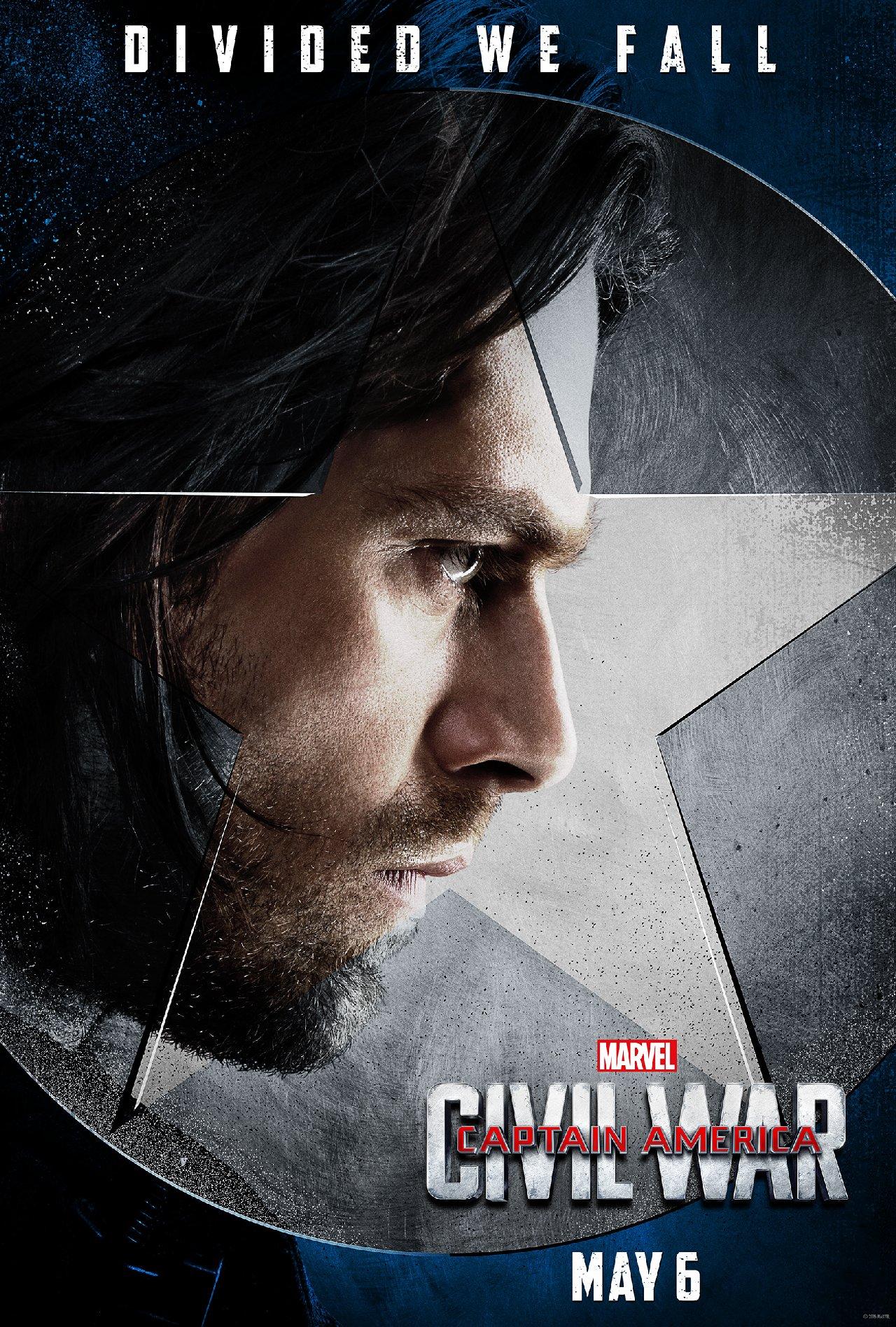 Captain America: Civil War - Il character poster di Sebastian Stan
